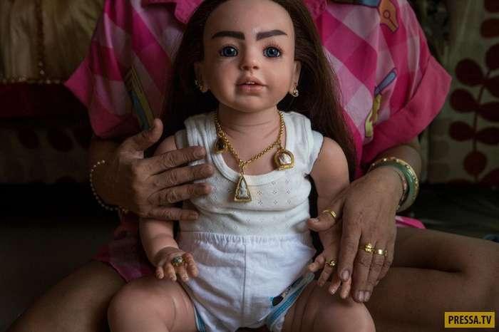 Куклы-талисманы из Таиланда (12 фото)