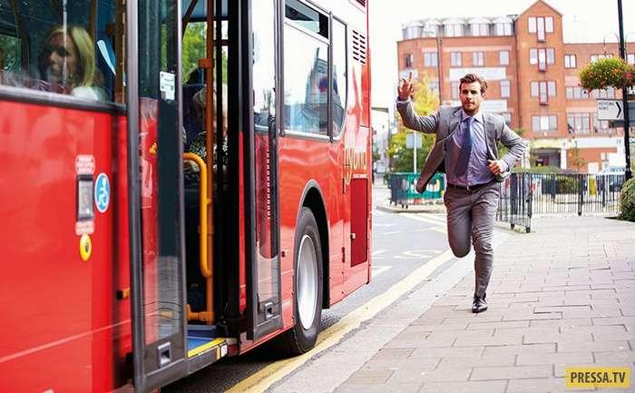 Погоня за автобусом и помидоры...