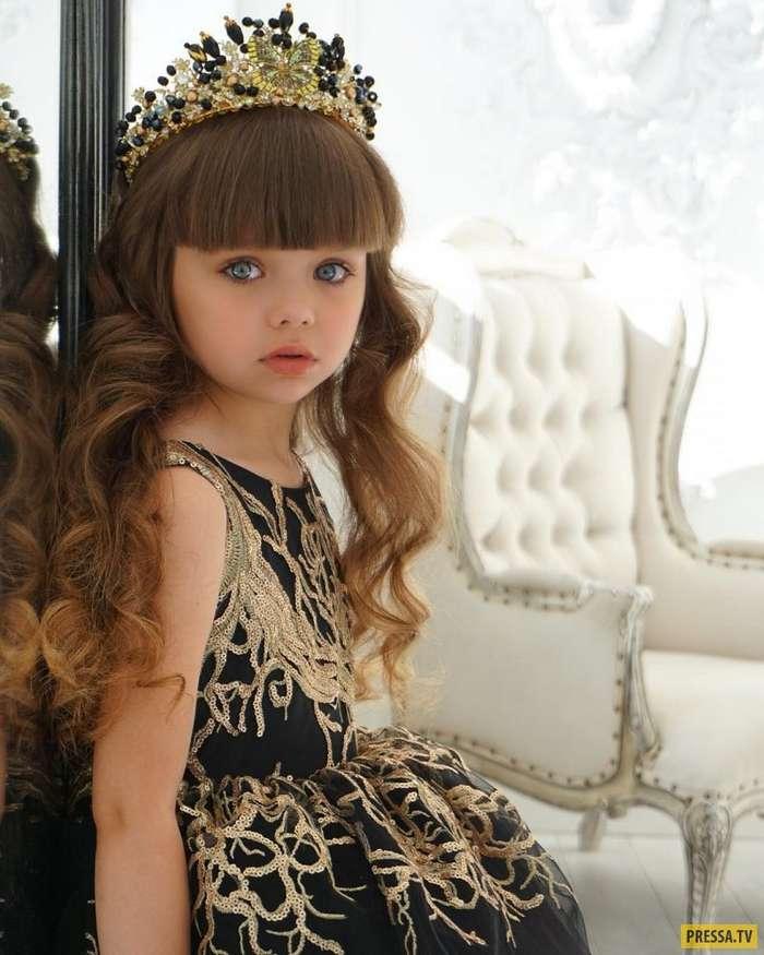 Самая красивая девочка в мире – 6-летняя Анастасия Князева из России! (16 фото)