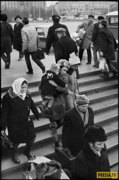 Советский Союз 1972 года в объективе известного фотожурналиста Анри Картье-Брессона (16 фото)