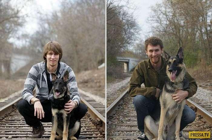 Посмотрите, как они выросли! Хозяева поделились яркими фотографиями своих питомцев (15 фото)