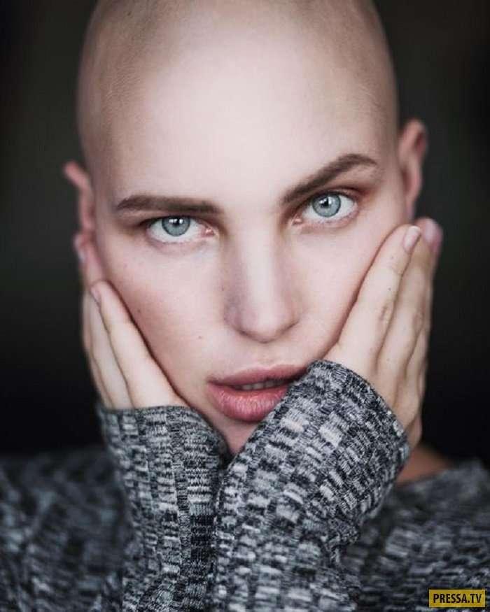 Необычная красота: лысые девушки (31 фото)