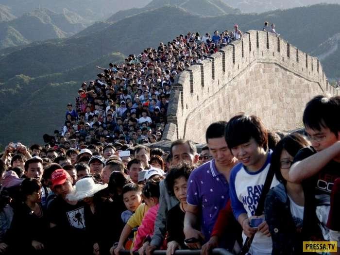 Как выглядит перенаселение Китая (14 фото)