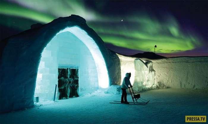Невероятная красота отеля Icehotel в Лапландии (8 фото)