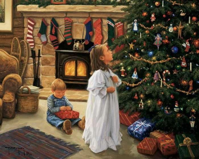 Многовековая история Новогодней елочки (11 фото)