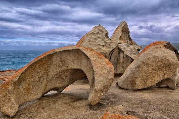 Remarkable Rocks (Поразительные скалы) на острове Кенгуру в Австралии (10 фото)