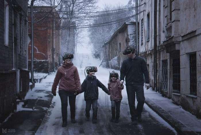 Сюрреализм: Россия в 2046 году (6 фото)