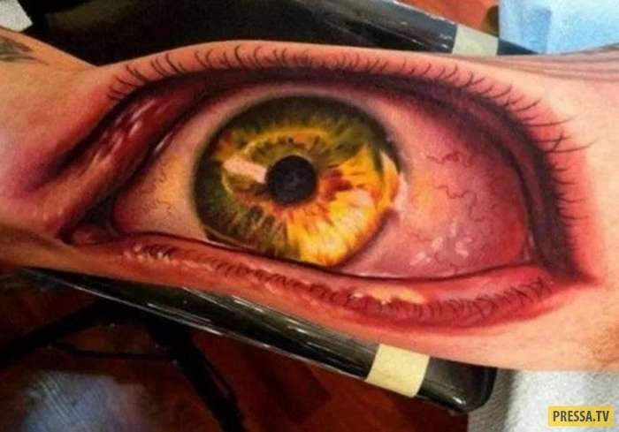 Настоящая работа мастера: татуировки, которые выглядят на все 100% (15 фото)