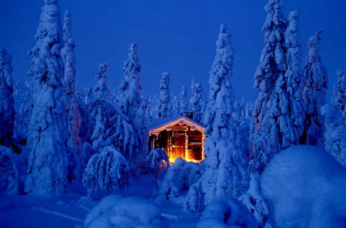 Лапландия - родина Санта Клауса (17 фото)