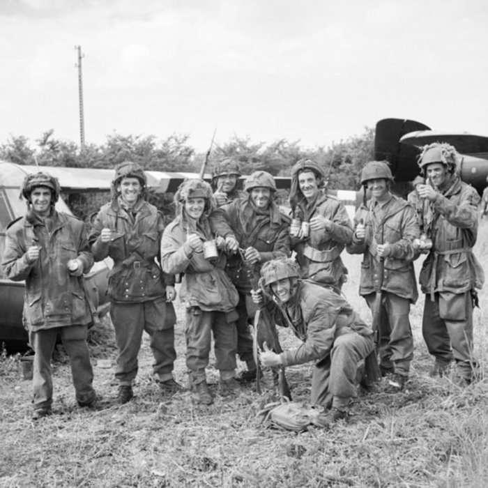 Великобритания и чай во время Второй мировой войны (6 фото)