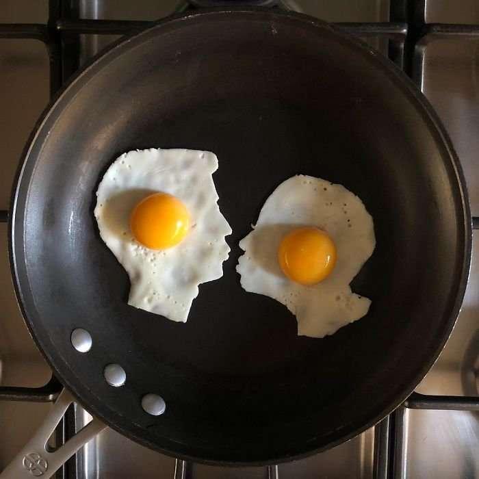 Этот парень делает себе завтраки только из яиц, но они покорили уже весь интернет! (12 фото)
