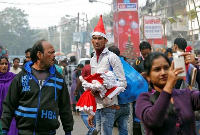 Предновогодняя жизнь в Индии (26 фото)