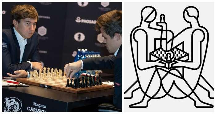 Кто бы мог подумать, что самый сексуальный логотип получит чемпионат по шахматам