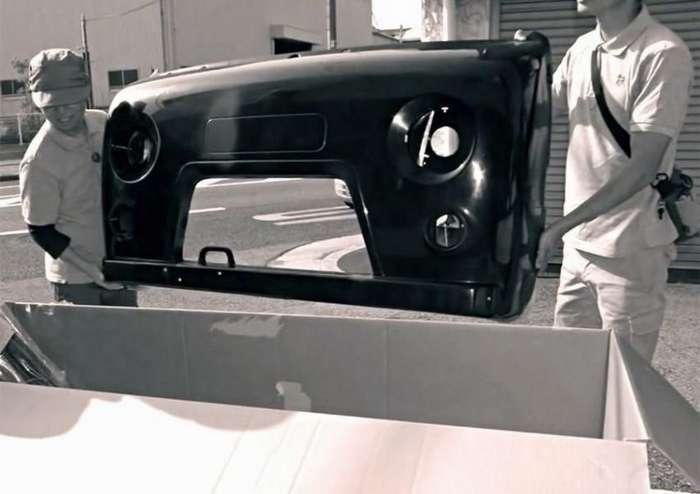 """Японские тюнеры превращают свои авто в """"Буханки"""""""