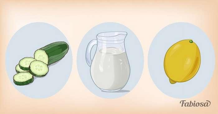 Смешайте огурец с этими двумя ингредиентами, и у вас получится лучшее средство для ухода за кожейлица!