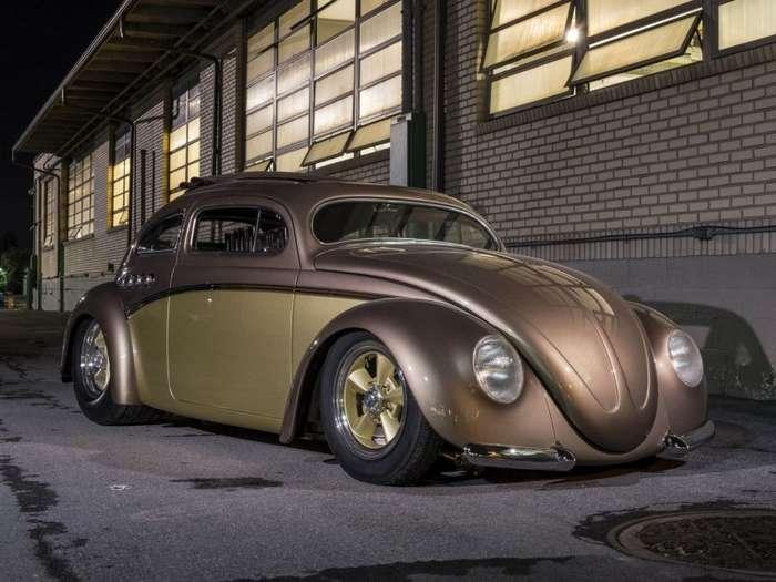 -Берлинский Бьюик- - хот-род из Volkswagen Beetle-16 фото + 1 видео-