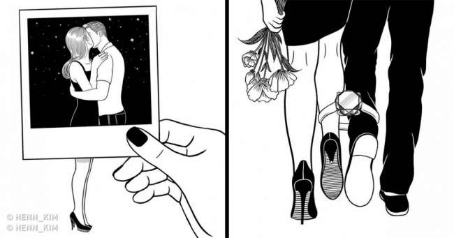 Корейский художник рисует иллюстрации осложностях любви, которые поймет каждый, кто когда-либо бывал вотношениях