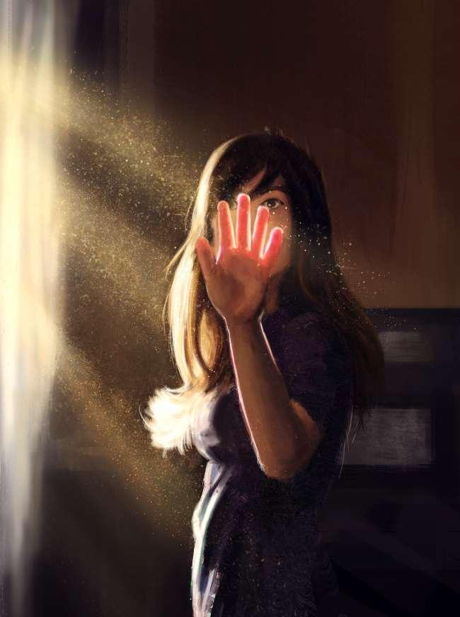 Художница доказала, что главное вкартине— свет