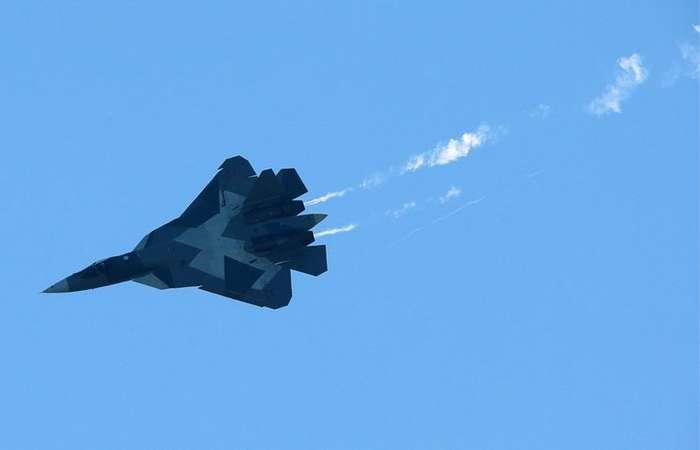 Су-57 поднялся выше -Раптора--4 фото-