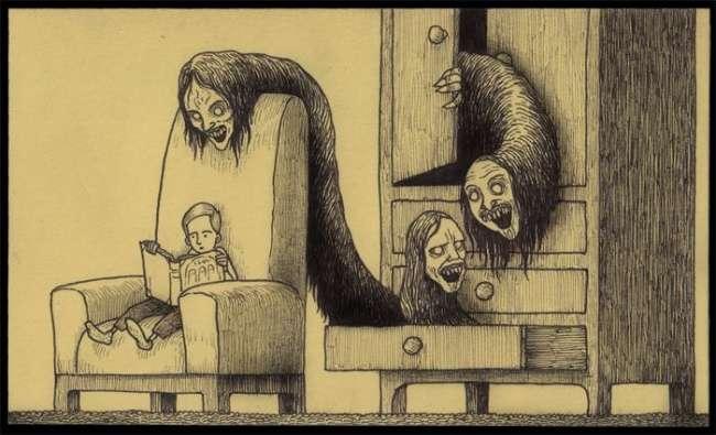 Отец близнецов ирежиссер детского телешоу всвободное время рисует картины, которые лучше несмотреть наночь