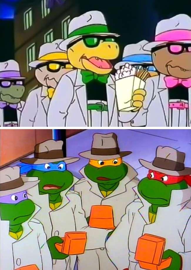 7популярных мультфильмов, укоторых есть странные клоны