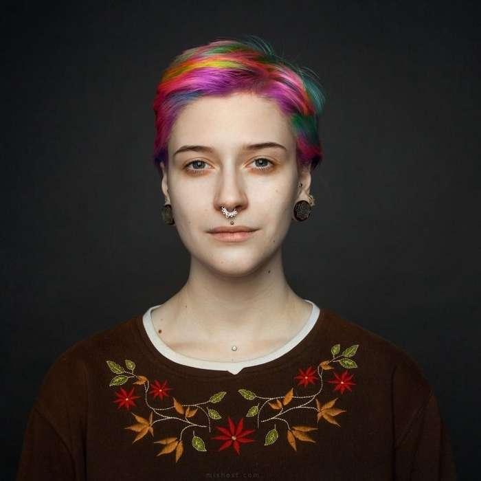 Природная красота людей в работах российского фотографа-26 фото-