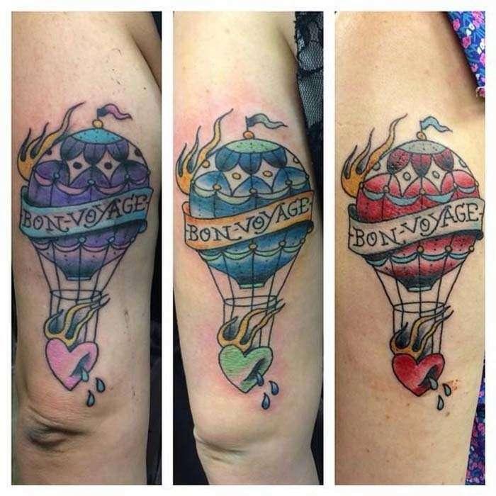 Фотографии татуировок лучших друзей, которые говорят о их сильных взаимоотношениях-13 фото-
