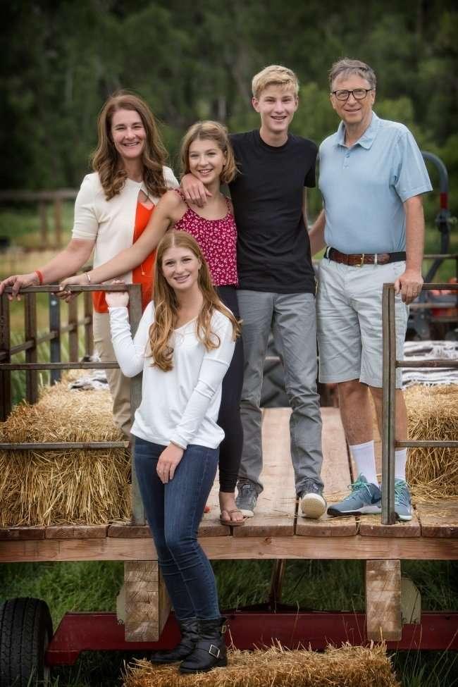 Как воспитывают своих детей 6 богатейших людей мира-8 фото-