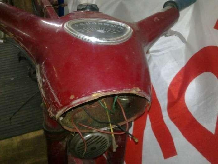 Превращение останков JAWA 350 1963 в новый мотоцикл-18 фото-