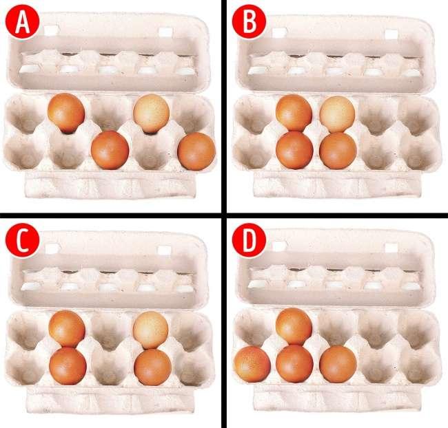 Выберите, вкакой коробке все лежит правильно, имырасскажем овашей сильной стороне