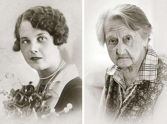 8фото, которые красноречивее всех доказательств говорят отом, что человек вмолодости ивстарости— это 2разных человека