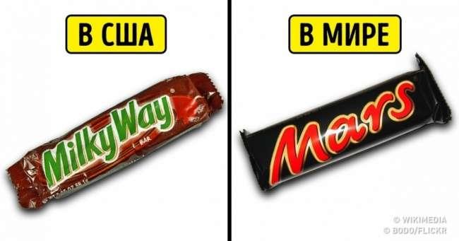 9известных продуктов, которые вдругих странах выглядят совершенно по-другому