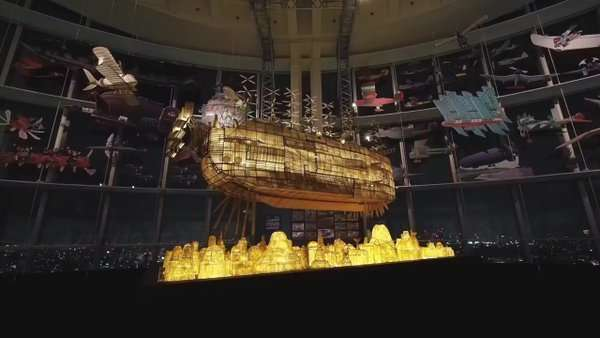 Известная аниме-студия построила замок в небесах-6 фото-