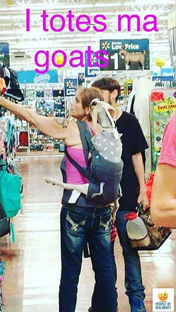 Экстравагантные посетители американских супермаркетов-29 фото-