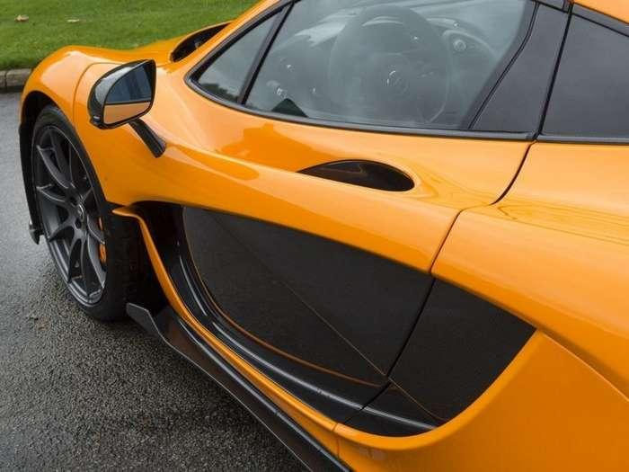 Выживший. Как уцелел прототип редкого суперкара McLaren P1-14 фото-