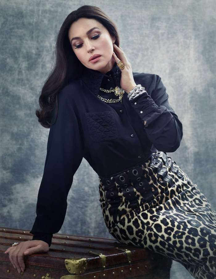 Красивейшая фотосессия Моники Беллуччи – завораживает и сражает великолепием-6 фото-