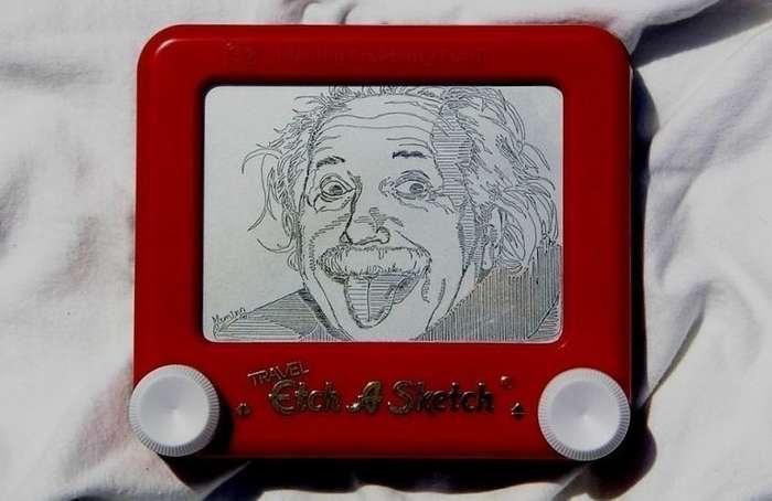 Нереальные рисунки на -волшебном экране- от Кайла Флеминга-16 фото-