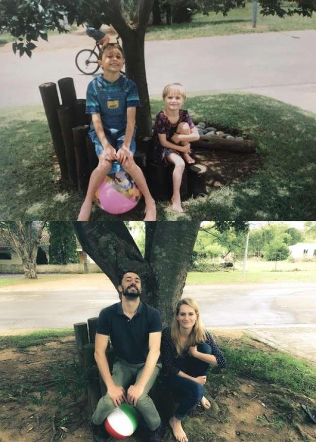 20+снимков отом, что тыбыл ребенком, апотом вжух— истал взрослым