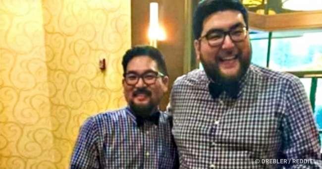 25человек, которые совершенно случайно наткнулись насвоих двойников