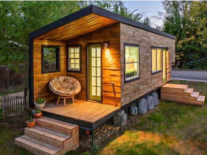 -С милым рай и в шалаше!- или 5 самых маленьких домов в мире