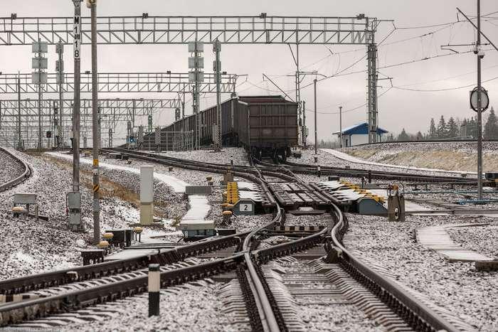 Крутая железнодорожная станция России