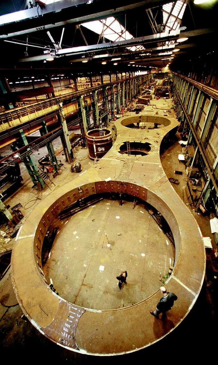 Одно из самых необычных сооружений мира &8211; колесо Фалкирк