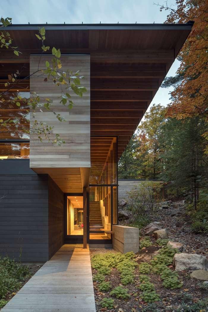 Интерьер дома в канадской глубинке