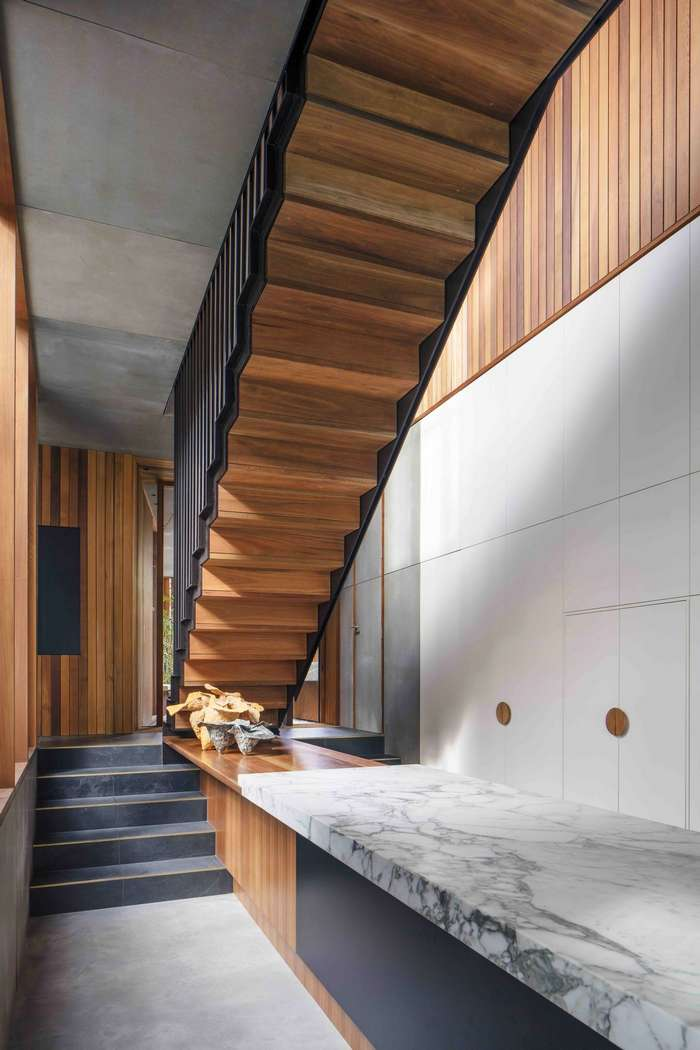 Интерьер умного дома в пригороде Сиднея