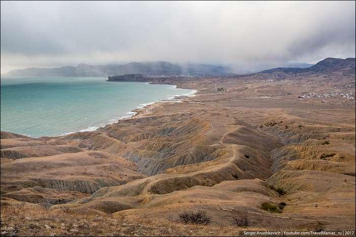 Путешествие на мыс Меганом в Крыму