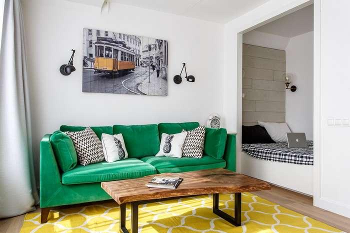 Дизайн интерьера квартиры 35 кв метров
