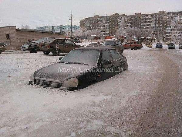 Бывают же зимы