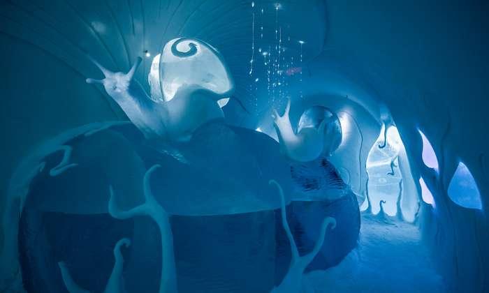 Невероятный ледяной отель Ice Hotel в Швеции
