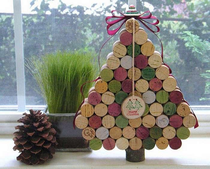 Простые идеи новогодней елки своими руками