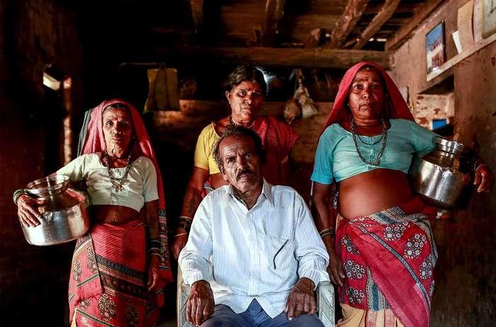 Фотопроект индийского фотографа о жизни сельской глубинки
